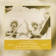 39 A la trova mas bonita de estos nobles cantadores -folder