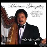 TAPA CD MARIANO GONZALEZ - ARPA PARAGUAYA - PORTALGUARANI